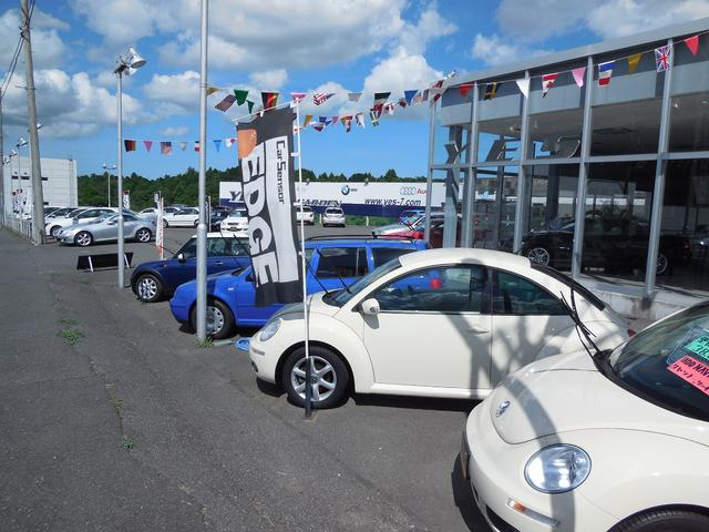 当店自慢の展示車両が、500坪のの展示場にズラリ並んでます。