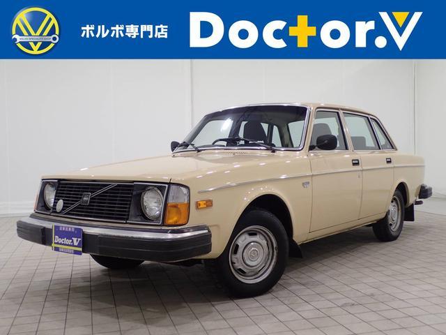 クラシックカーのボルボ240は販売日本一です。当社オリジナルブランドVOLTSでカスタムも可能!