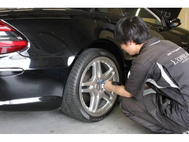 元ディーラー・輸入車専門工場のベテラン整備スタッフが対応。