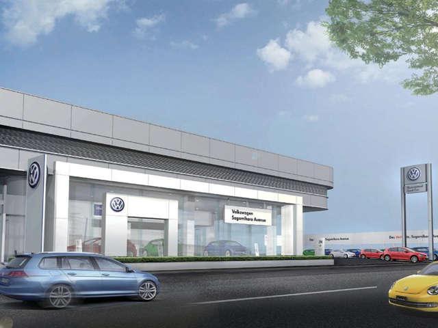 Volkswagen相模原アベニュー ウエインズインポート横浜株式会社の店舗画像