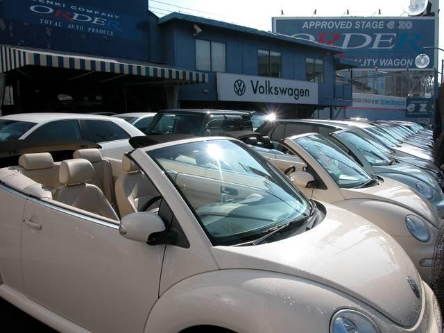 VW車のことでは知らないことはありません。なぜなら、専門店だからです。