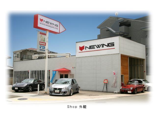 店舗は中津浜線沿いに有ります。各種デモカーを取り揃えて、皆様のご来店をお待ちしております。