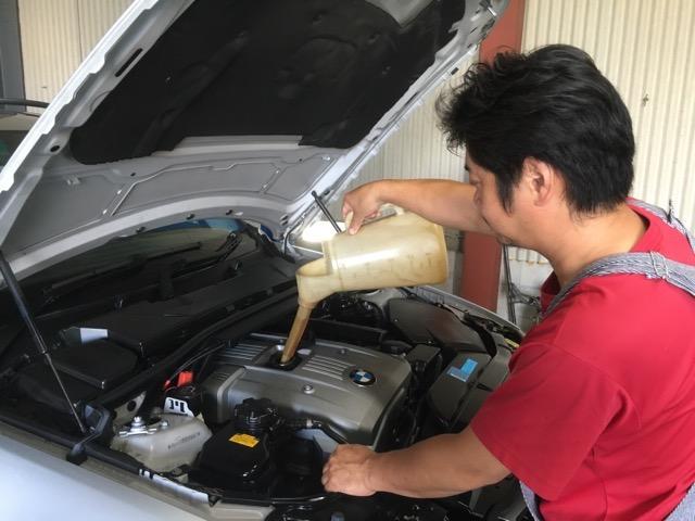 輸入車と言うのはメンテナンスをしながら好調な状態を維持していく工業機械です。