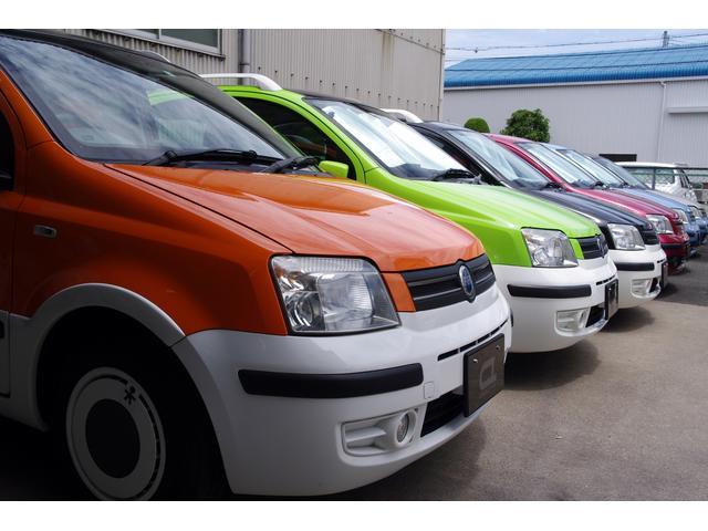 店主が厳選したFIAT車を常時15台展示しております。