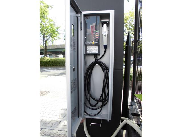 EV・PHV充電器設置見積りやメンテナンスの待ち時間に充電していただく事ができます。