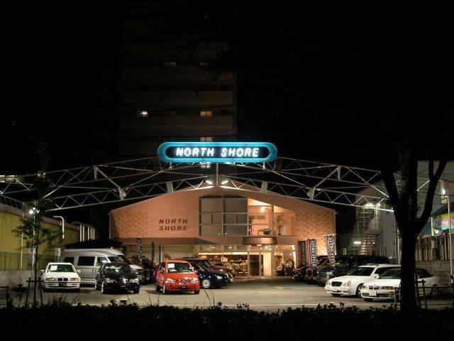伝説の生まれる場所『NORTH SHORE』そんな想いで名づけられたお店です。
