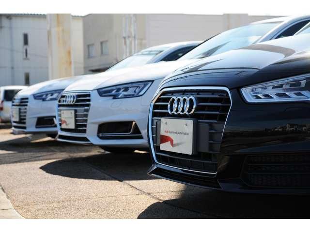 Audi認定中古車なら安心の正規ディーラー、Audi彦根へ