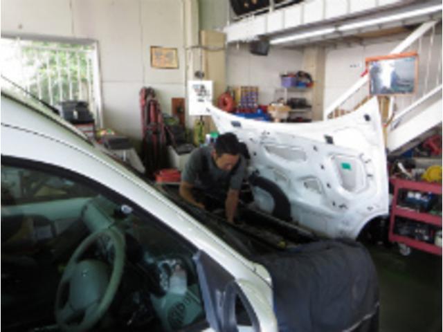 九州運輸局長指定(民間車検)工場福−1662九州運輸認証番号 1−4459