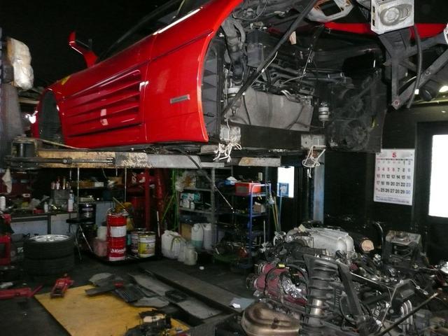 外車修理歴30年のメンテナンスノウハウで、お客様に安心のバックアップ!