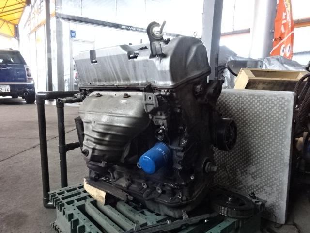 エンジン載せ替え等の重整備にも対応しております。